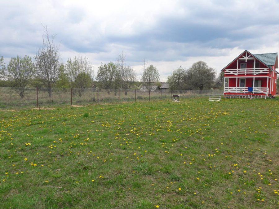 Забор из сетки рабицы 280м с воротами и калиткой фото3