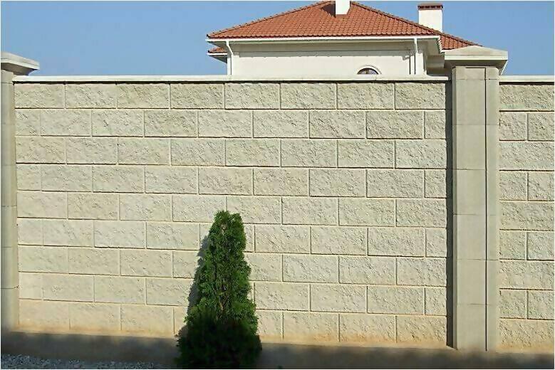 забор из французского камня фото2
