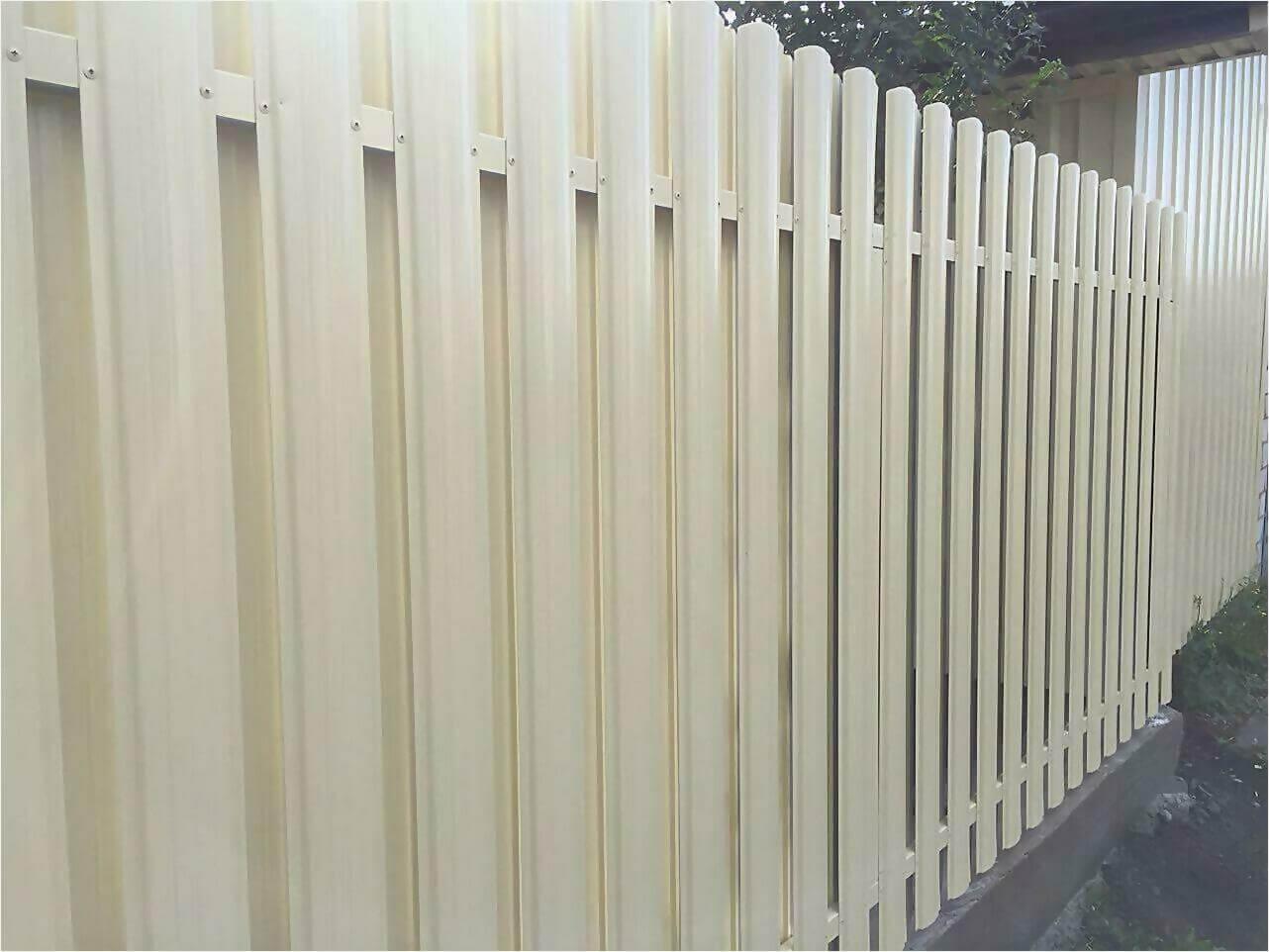 Забор из штакетника 65м фото1