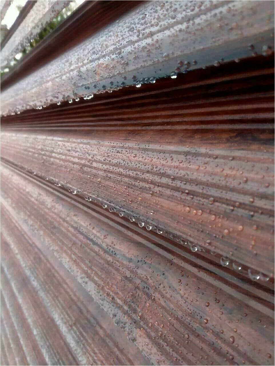 забор-жалюзи Каштан Красный фото4