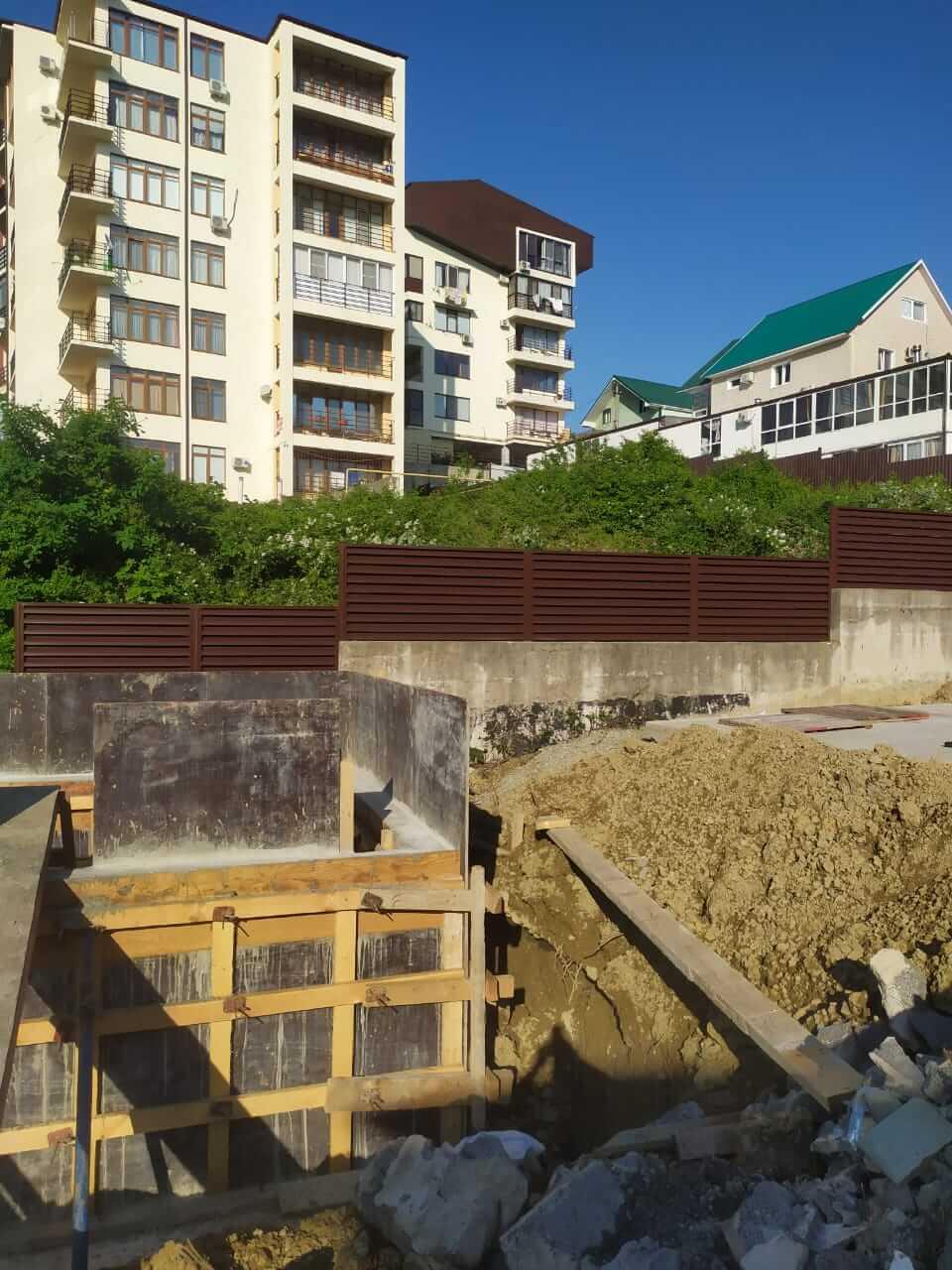 Забор-жалюзи 140м RAL8017 Шоколад фото6