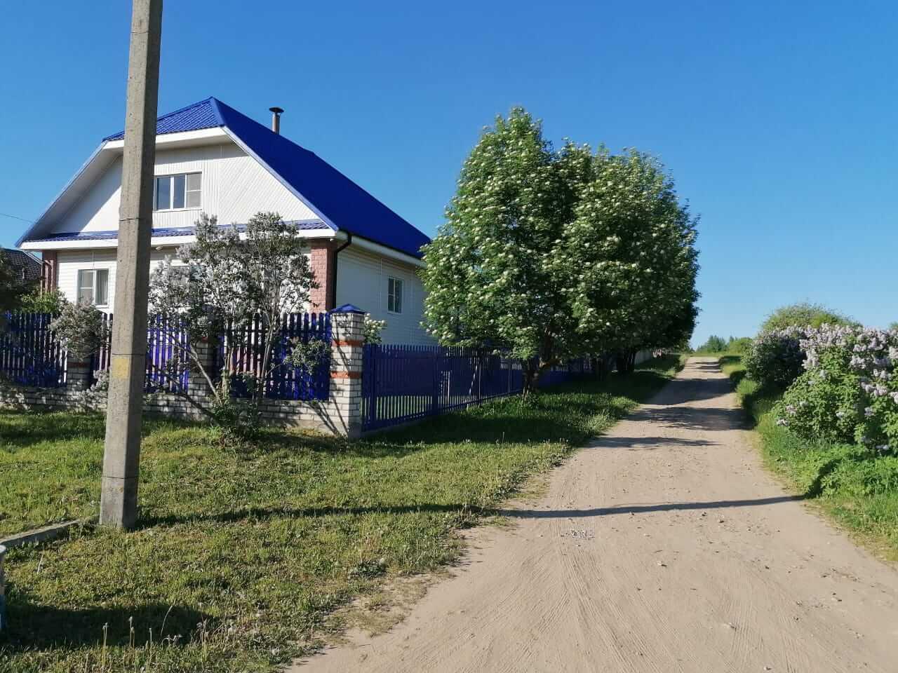 забор из штакетника Синий Ультрамарин фото3